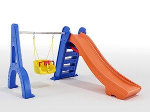 3D playground - model