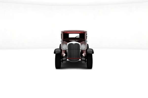 custom hot rod 3D model