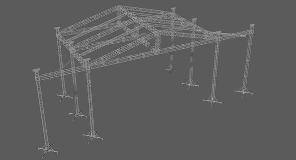 prolyte st 20x14 roof 3D model