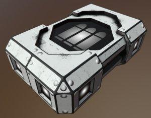 hitech scifi ammobox 3 model