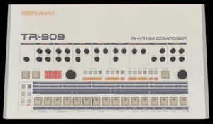 3D model roland tr-909