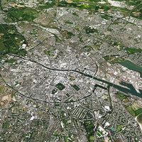 Dublin With Terrain