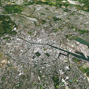 dublin city 3D