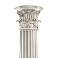 3D temple winds column 20