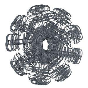 3D model sci-fi element