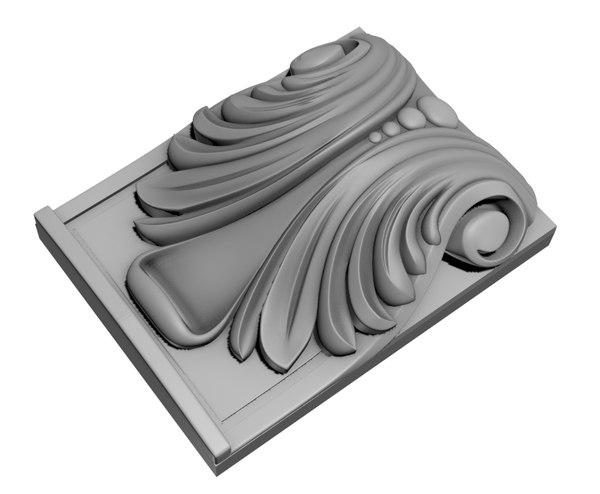 corbel cnc 3D