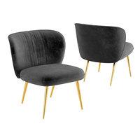 3D ginger slipper chair model