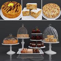 3D cake peanut model