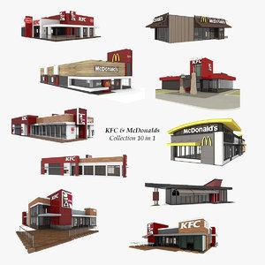 10 kfc mcdonalds model