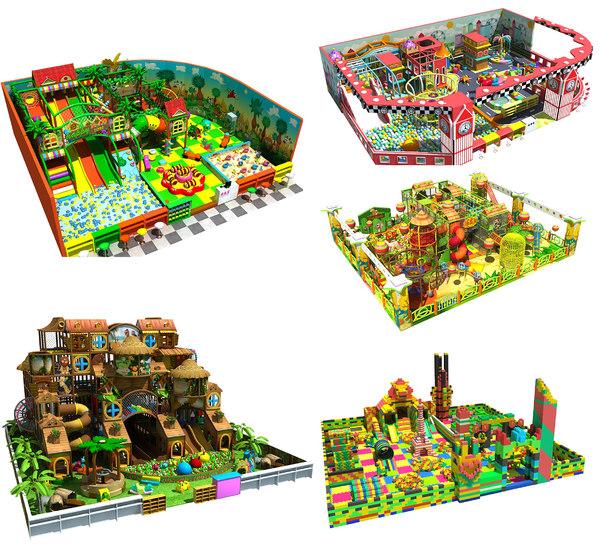 3D amusement park 14-18 model