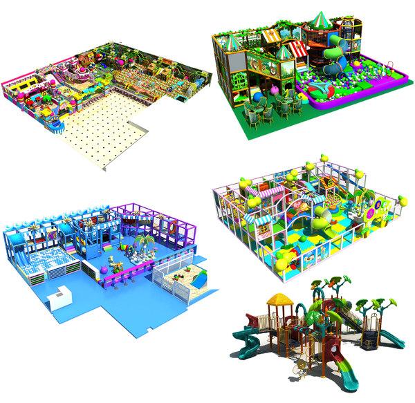 amusement park 6-10 3D model