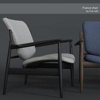 3D france chair finn juhl