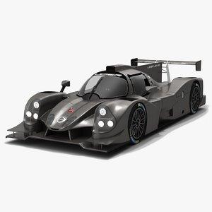 ligier js p3 race car 3D model
