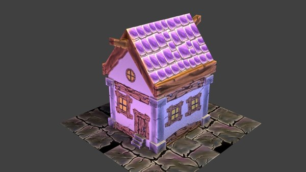 house video mobile 3D model