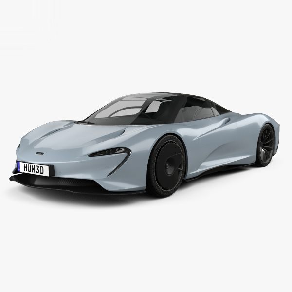 mclaren speedtail 2019 3D