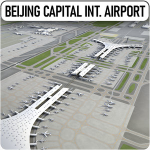 beijing capital international airport model