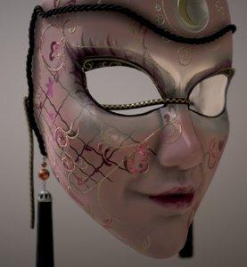 3D venetian mask