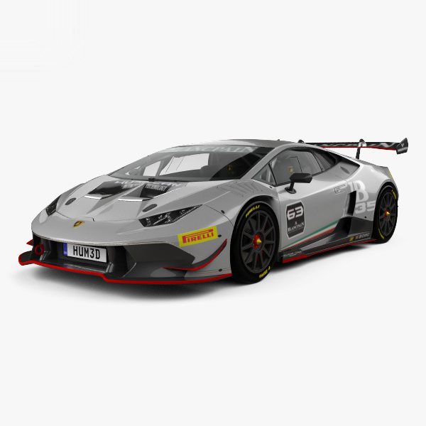 lamborghini huracan super 3D model