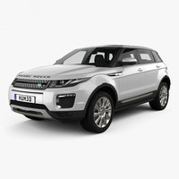 3D model range rover land