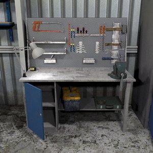 workshop tools 3D
