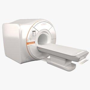 3D siemens magnetom mri model