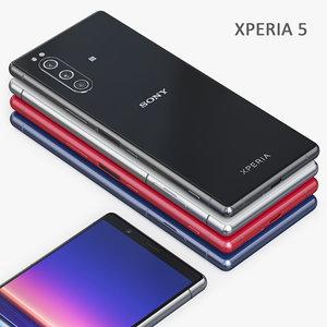sony xperia 5 3D model