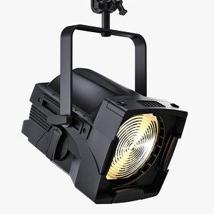 source fresnel lights 3d model