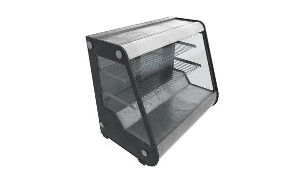3D showcase cooler model