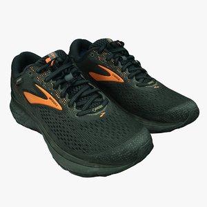 3D retopology sports shoes
