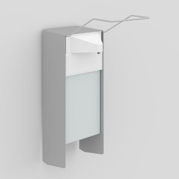 3D wall-mounted soap dispenser