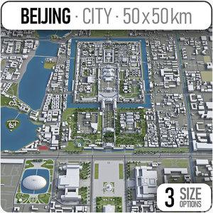 3D beijing surrounding - model
