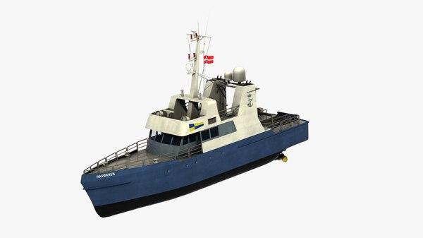 havornen vessel 3D model
