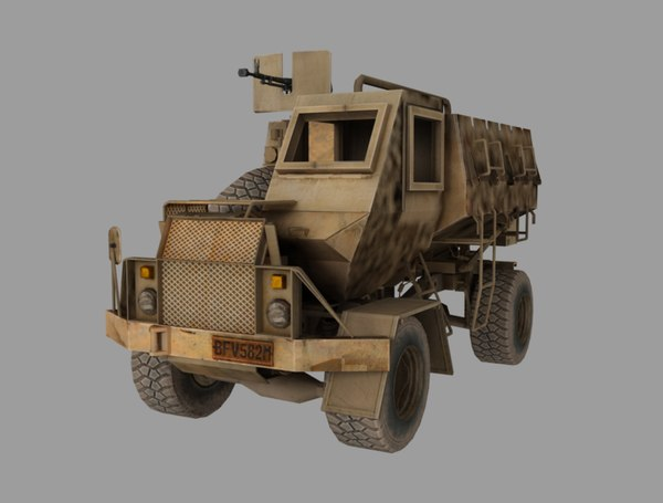 buffel truck 3D model