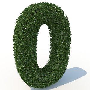 3D 0 hedge