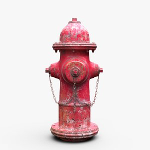hydrant texturing model