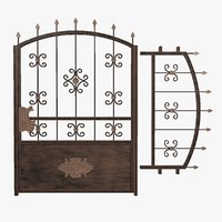gate wrought model
