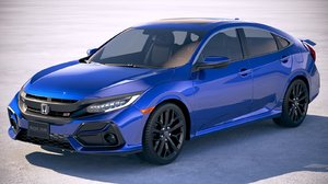 3D model honda civic si