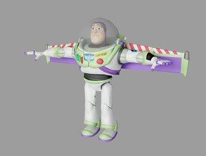 buzz toy story 3D