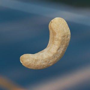 3D model cashews octane