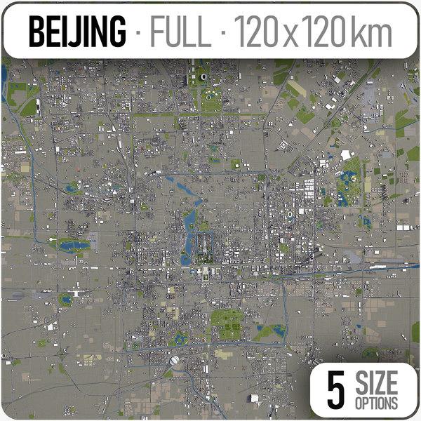beijing region - area 3D model