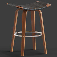 3D model george oliver beaird bar stool