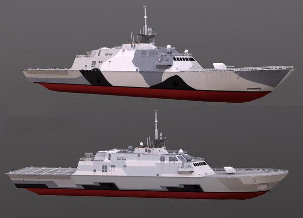 3D freedom class model