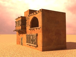 arabian house 3D