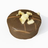 chocolate candy praline 3D model