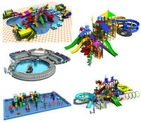 3D amusement park - water