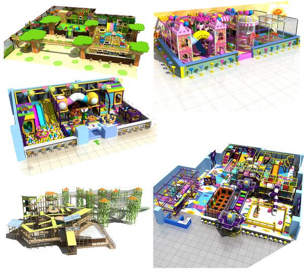 amusement park 19 21-24 3D model