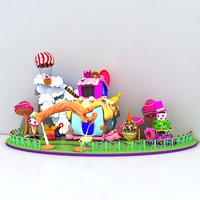 candy house 1 model