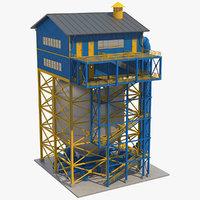 3D model industrial equipment 1
