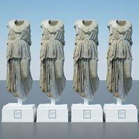 athena greek roman 3D