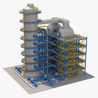 industrial equipment model